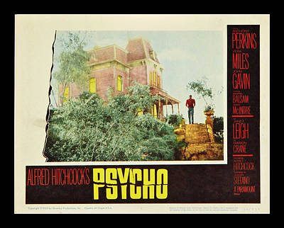 Psycho Poster by Georgia Fowler