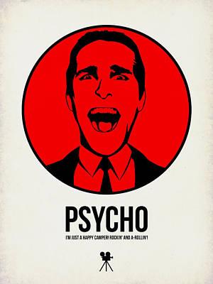 Psycho Poster 2 Poster by Naxart Studio
