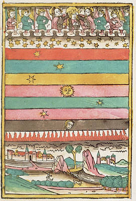 Ptolemaic Universe, 1481 Poster by Granger