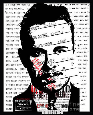 Public Enemy Number 1 Poster by Brittany Perez
