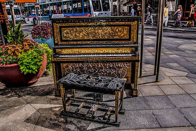 Public Piano Poster by Ray Congrove