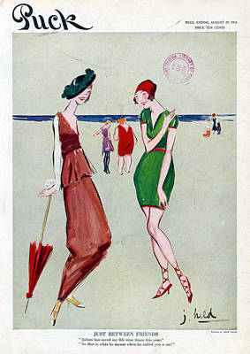 Puck Friends, 1914 Poster by Granger
