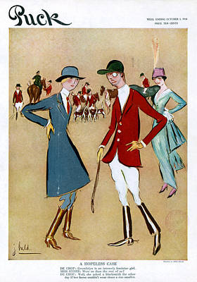 Puck Hopeless Case, 1914 Poster by Granger