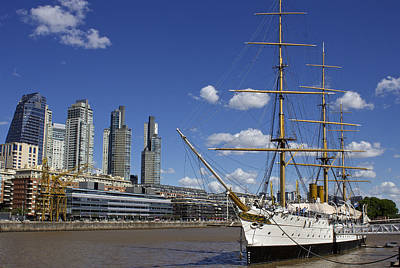 Puerto Madero Buenos Aires Poster by Venetia Featherstone-Witty