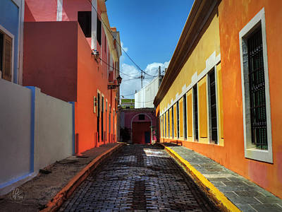 Puerto Rico - Old San Juan 008 Poster by Lance Vaughn
