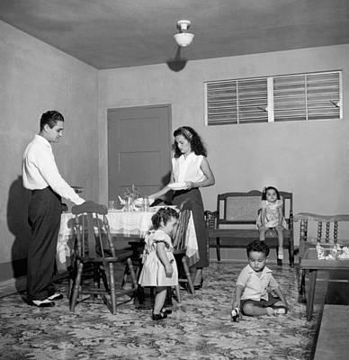 Puerto Rico Family Dinner Poster