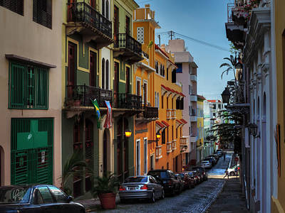 Puerto Rico - Old San Juan 006 Poster by Lance Vaughn