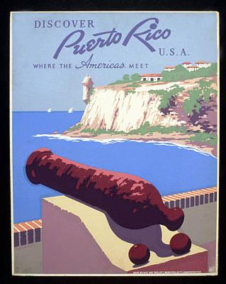 Puerto Rico Usa Poster