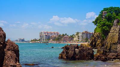 Puerto Vallarta Poster by Aged Pixel