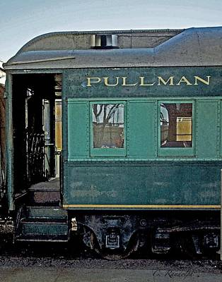 Poster featuring the photograph Pullman by Cheri Randolph
