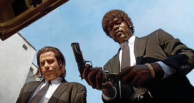 Pulp Fiction Artwork 1 Poster