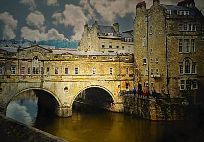 Pulteney Bridge Poster by Diana Angstadt