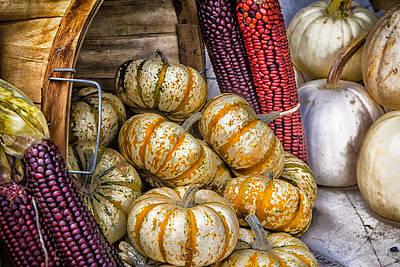 Pumpkin Basket Poster