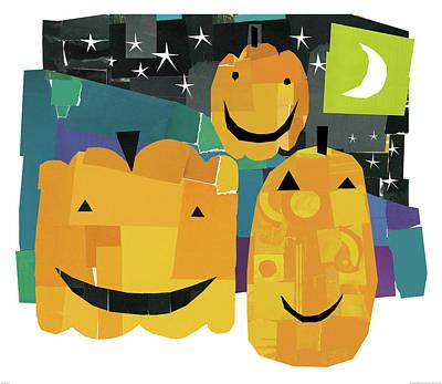 Pumpkin Lanterns II Poster