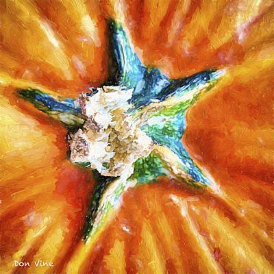 Pumpkin Star Poster