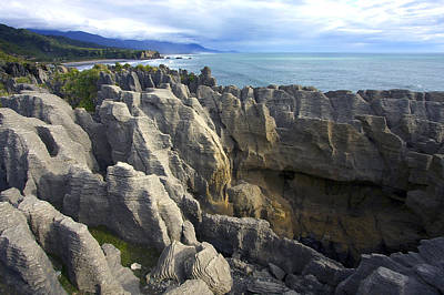 Poster featuring the photograph Punakaiki Pancake Rocks #2 by Stuart Litoff