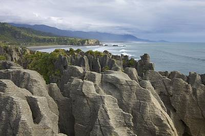 Poster featuring the photograph Punakaiki Pancake Rocks by Stuart Litoff