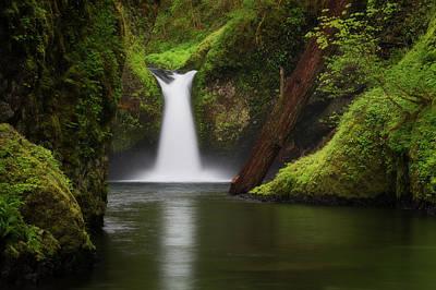 Punchbowl Falls, Columbia River Gorge Poster