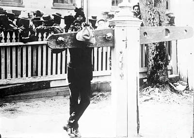 Punishment By Pillory, Historical Image Poster by Library Of Congress
