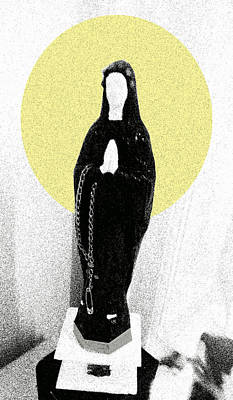 Punk  Holy M Digital Poster