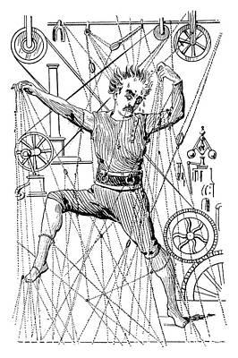 Puppeteer Thomas Holden Poster by Granger