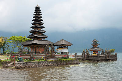 Pura Ulun Danu Bratan Temple Poster by Panoramic Images