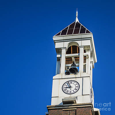 Purdue University Bell Tower Clock Poster by David Haskett