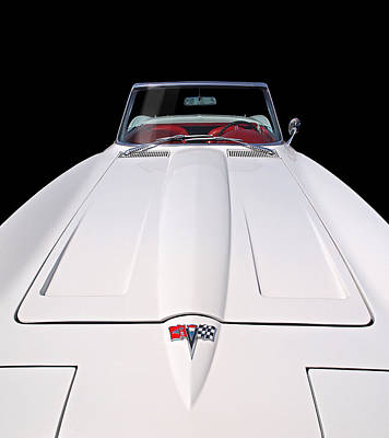Pure Enjoyment - 1964 Corvette Stingray Poster
