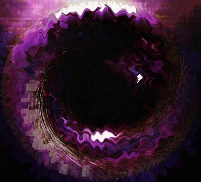 Purple Blackhole  Poster