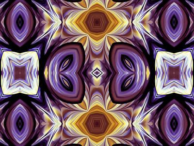 Purple Boudoir Poster