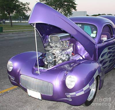 Purple Monster Poster