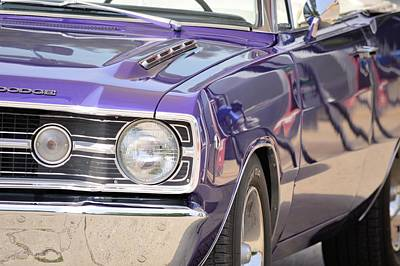 Purple Mopar Poster by Bonfire Photography