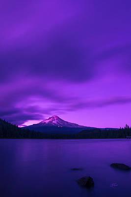 Purple Mountain Majesty Poster by Lori Grimmett