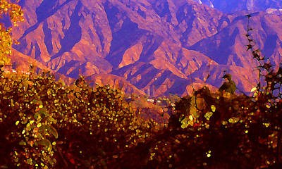 Purple Mountains Majesty Poster by Amy Vangsgard