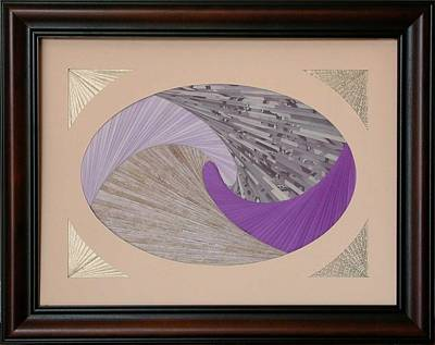 Poster featuring the mixed media Purple Passion by Ron Davidson