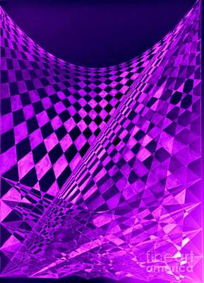 Purple Perspectives Poster