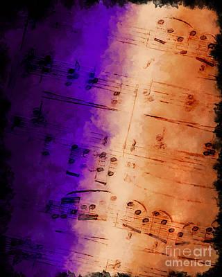Purple Phrase Poster