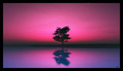 Purple Sky... Poster by Tim Fillingim