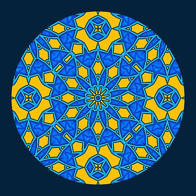 Pursuit Of Happiness Mandala Poster