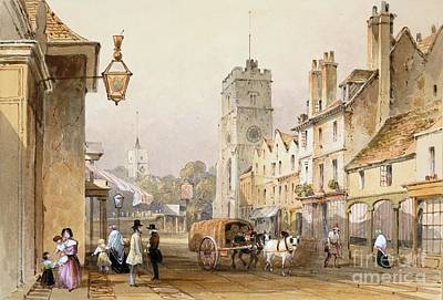 Putney High Street, 1837 Poster by British Library