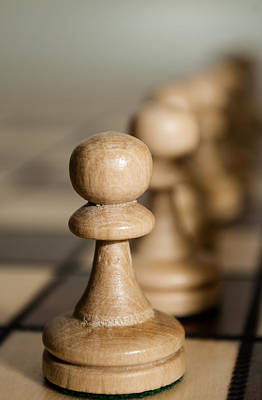Pawns Poster by Wayne King