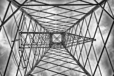 Pylon Poster by Howard Salmon