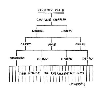 Pyramid Club Poster by Henry Martin