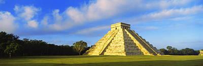 Pyramid In A Field, Kukulkan Pyramid Poster