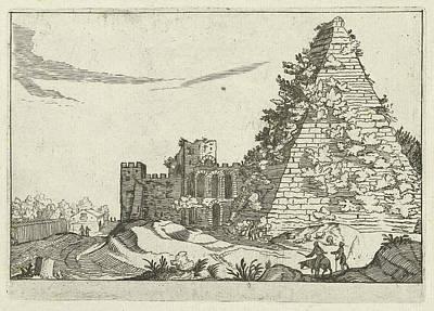 Pyramid Of Caius Cestius, Willem Van Nieulandt II Poster