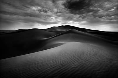 Pyramids Of Sand Poster by Alexander Kunz