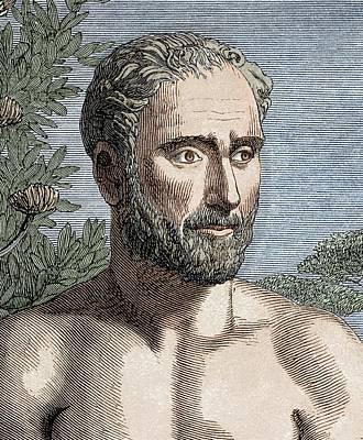 Pythagoras Of Samos Poster by Sheila Terry