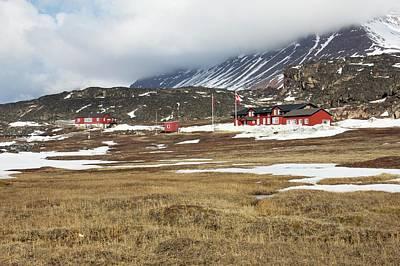 Qeqertarsuaq Arctic Station Poster by Mikkel Juul Jensen