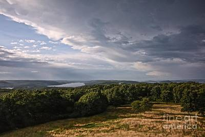 Quabbin Looking North Poster by Randi Shenkman