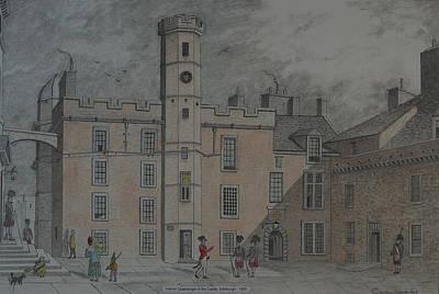 Quadrangle Edinburgh Castle Poster